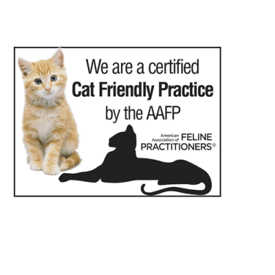 We are a Certified Cat Friendly Practice