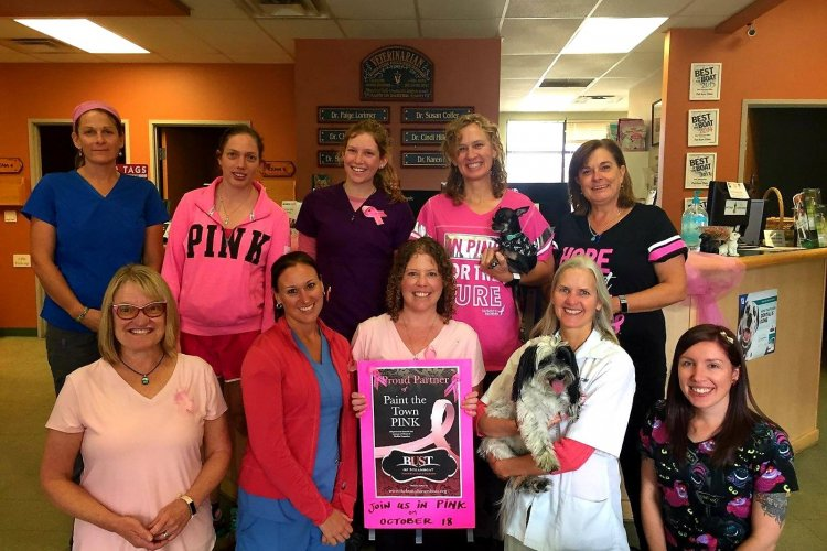 Pet Kare Goes Pink for Breast Cancer Awareness
