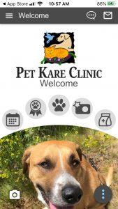 Pet Kare Clinic Mobile App! 2