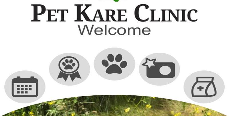 Pet Kare Clinic Mobile App! 1